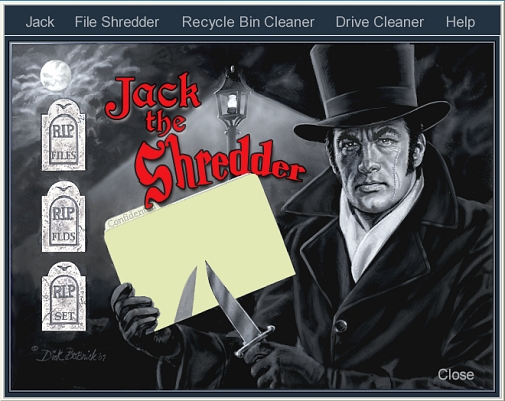 Click to view Jack the Shredder 1.0 screenshot